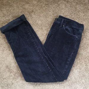 Levi 514 navy blue corduroy jeans 32x32